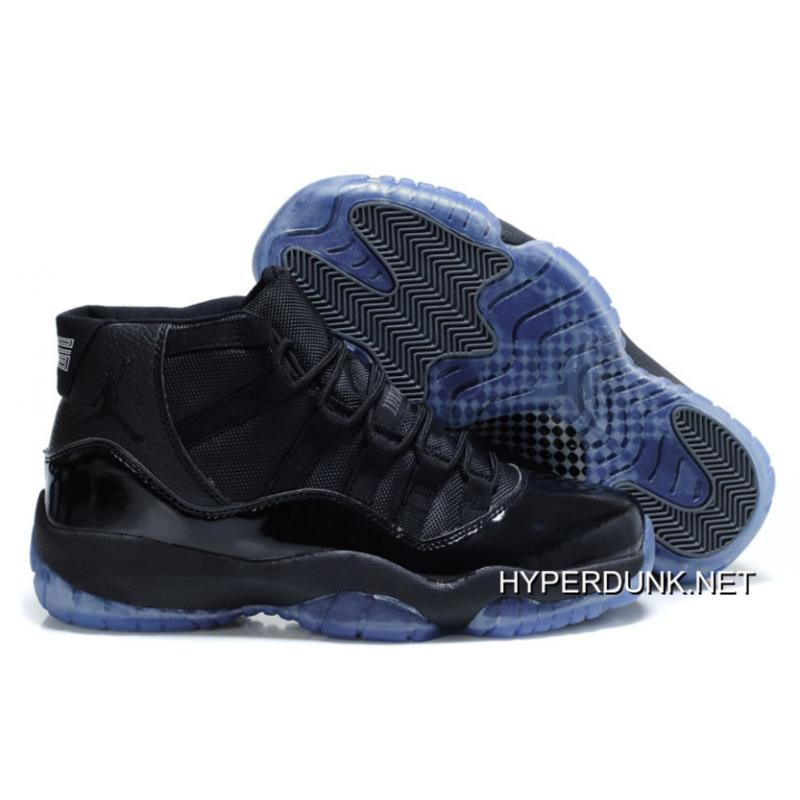 "57ee8f92ae9 2019 Super Deals Nike Air Jordan 11 Retro ""Blackout"" All Black ..."