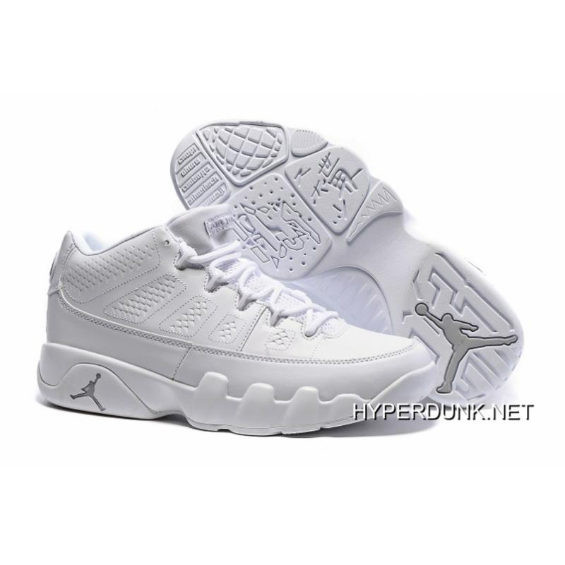 best cheap ffd27 52575 ... australia 2019 copuon nike air jordan 9 low white chrome 2e1cf a36b0