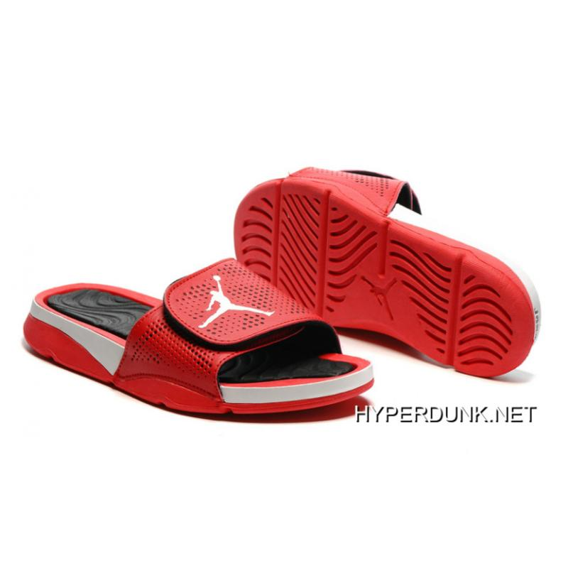 4c4663f6f99c 2019 Free Shipping Nike Jordan Hydro 5 Retro Red White Black ...