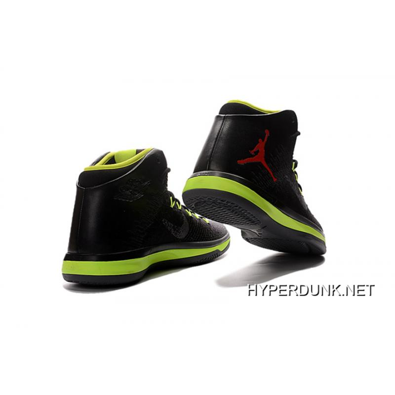 c3719adbefac ... 2019 Free Shipping Nike Air Jordan XXX1 Black Green Red Basketball  Shoes ...