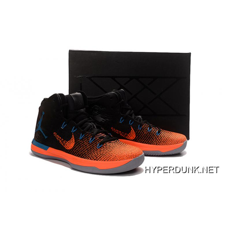 334f9c453dfd ... 2019 For Sale Nike Air Jordan XXX1 Black Orange Blue Basketball Shoes  ...