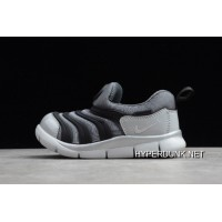 Kids Nike Dynamo Free TD Metallic Silver/Black BQ7106-001 New Year Deals SKU:267170-383