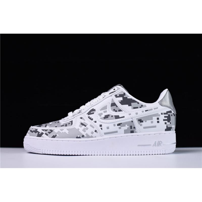 low top camo air force ones