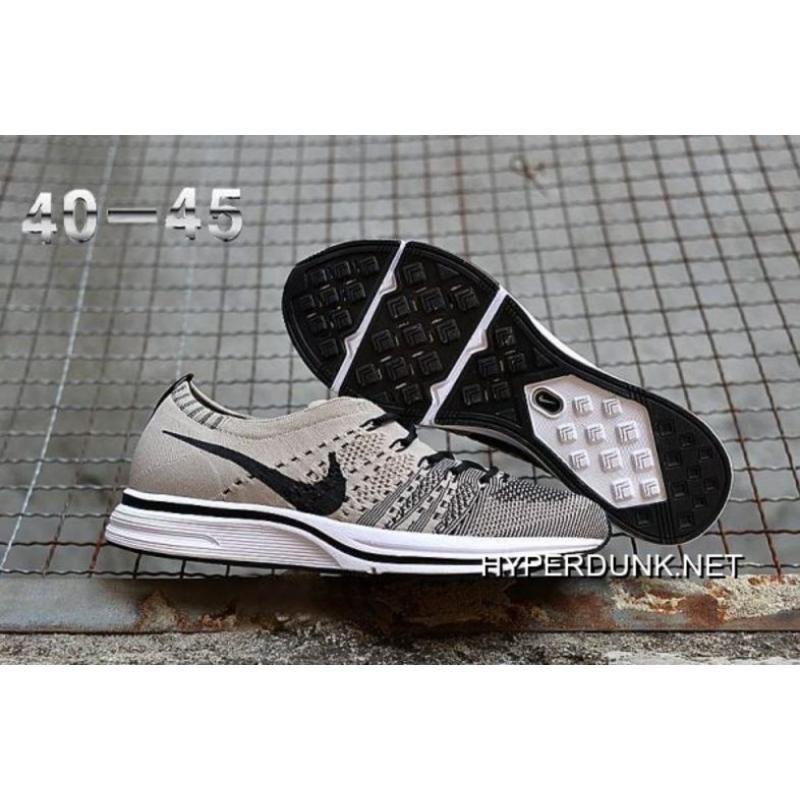 827dbe6f8666d authentic outlet nike flyknit trainer pale grey and black white 5b761 156ba