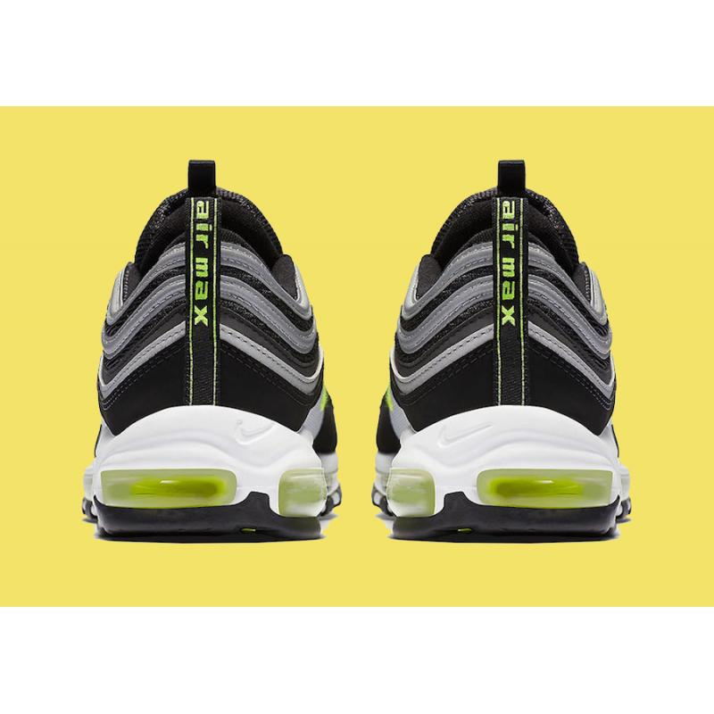 0c1b4ab86540 ... Best Nike Air Max 97 OG Black And Volt-Metallic Silver-White ...