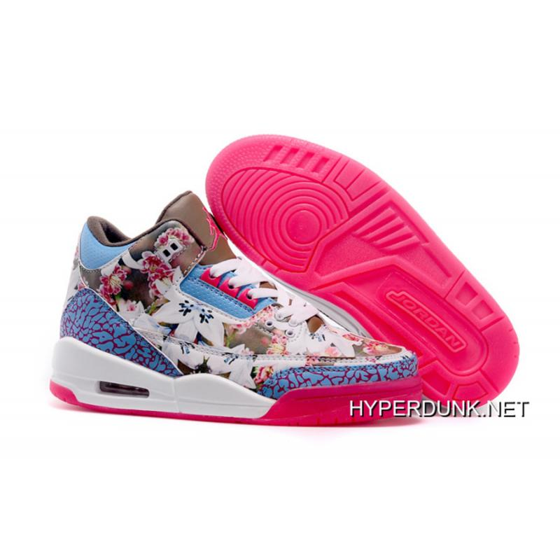 factory price 5334b 2cd40 Women Air Jordan III Retro Sneakers SKU:121764-219 2019 For Sale