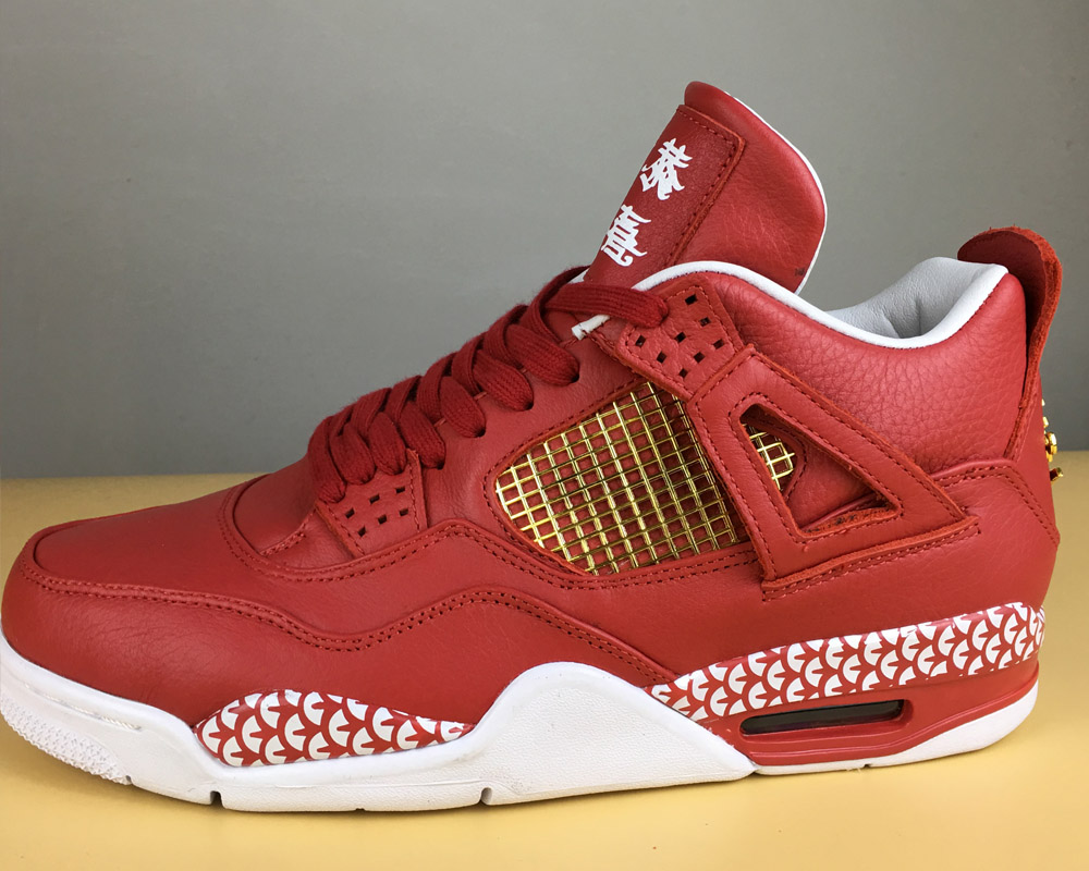 "1b1157fef22d New Year Deals Remade X 400ml Air Jordan 4 ""Chinese New Year"" Custom ..."