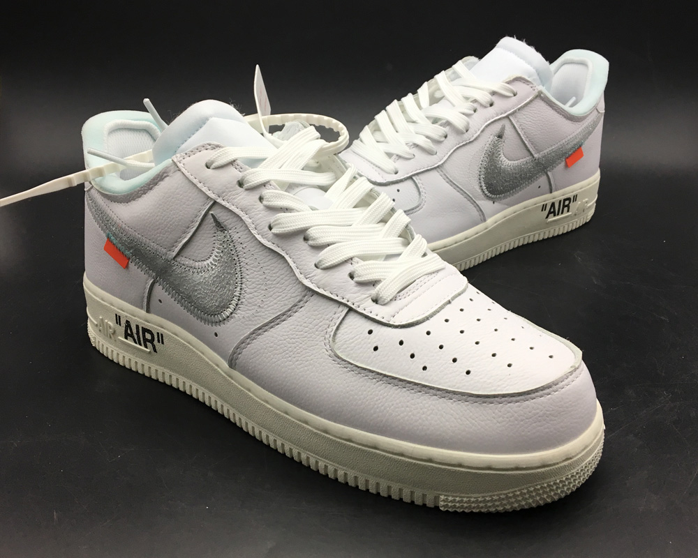"Best Off White X Air Force 1 '07 ""Off White AF1"" White"