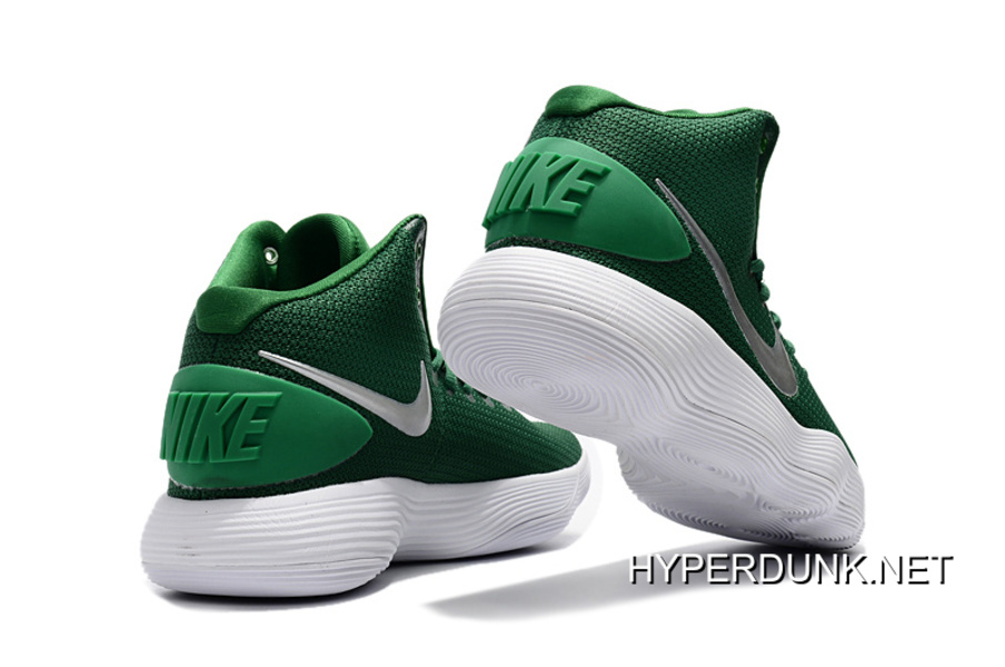 new style 2dbc0 3a5b5 2019 New Style Nike Hyperdunk 2017 Mid Green White