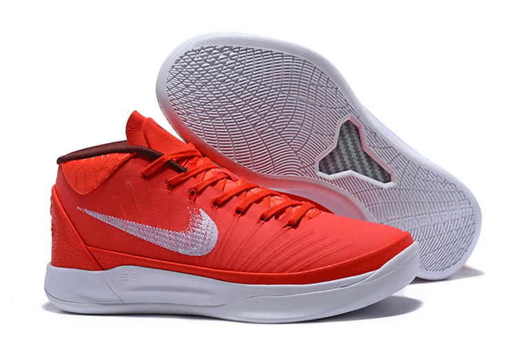 Nike Kobe AD Mid TB White And Red
